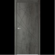 Дверь эмалит Verda Севилья 26 бетон темный