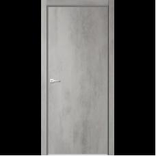 Дверь эмалит Verda Севилья 32 ДПГ бетон светлый