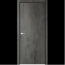 Дверь эмалит Verda Севилья 32 ДПГ бетон темный