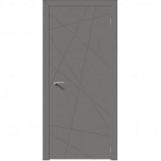 Дверь эмалит Verda Севилья 26 софт графит