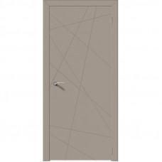 Дверь эмалит Verda Севилья 26 софт мокко