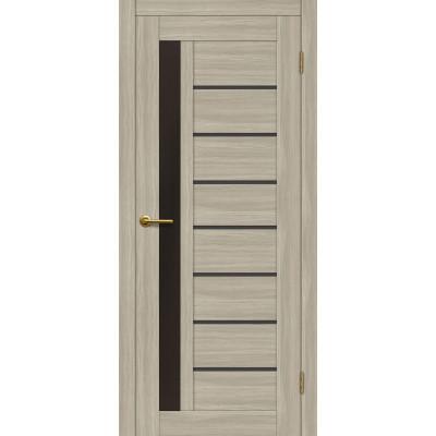 Дверь Motadoor Экошпон Афина ДО(Ч) дымчатый дуб