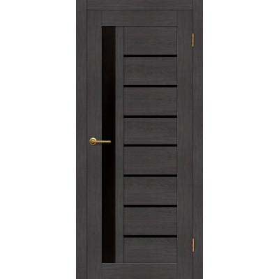 Дверь Motadoor Экошпон Афина ДО(Ч) венге пепельный