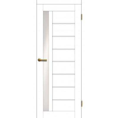 Дверь Motadoor Экошпон Афина ДО матовый белый