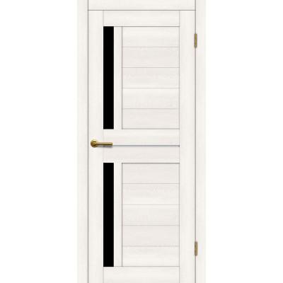 Дверь Motadoor Экошпон Фиона ДО(Ч) дуб белый