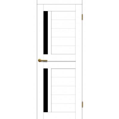 Дверь Motadoor Экошпон Фиона ДО(Ч) матовый белый