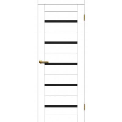 Дверь Motadoor Экошпон Фортуна ДО(Ч) матовый белый