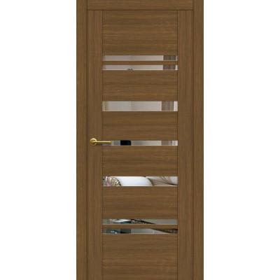 Дверь Motadoor Экошпон Future ДО античный кедр с зеркалом