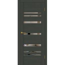 Дверь Motadoor Экошпон Future ДО грей с зеркалом