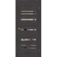 Дверь Motadoor Экошпон Future ДО венге пепельный с зеркалом