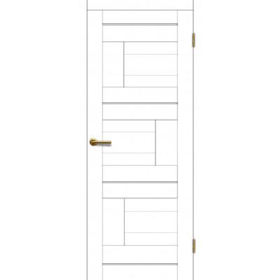 Дверь Motadoor Экошпон Лагуна ДГ матовый белый