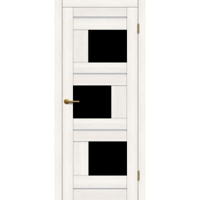 Дверь Motadoor Экошпон Лагуна ДО(Ч) дуб белый
