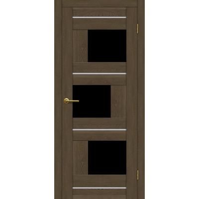 Дверь Motadoor Экошпон Лагуна ДО(Ч) дуб патина
