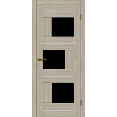 Дверь Motadoor Экошпон Лагуна ДО(Ч) дымчатый дуб