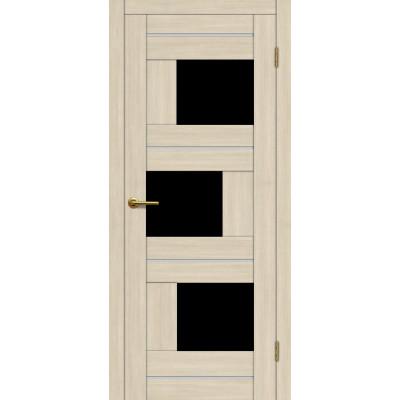 Дверь Motadoor Экошпон Лагуна ДО(Ч) капучино