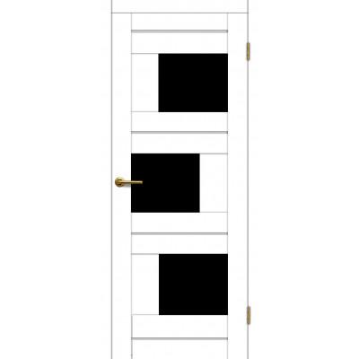 Дверь Motadoor Экошпон Лагуна ДО(Ч) матовый белый