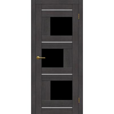 Дверь Motadoor Экошпон Лагуна ДО(Ч) венге пепельный