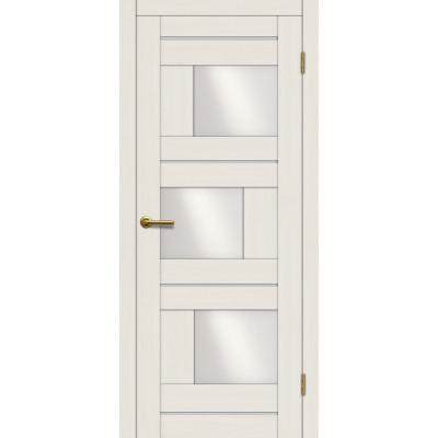 Дверь Motadoor Экошпон Лагуна ДО белое дерево