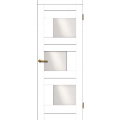 Дверь Motadoor Экошпон Лагуна ДО матовый белый