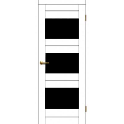 Дверь Motadoor Экошпон Мурена ДО(Ч) матовый белый