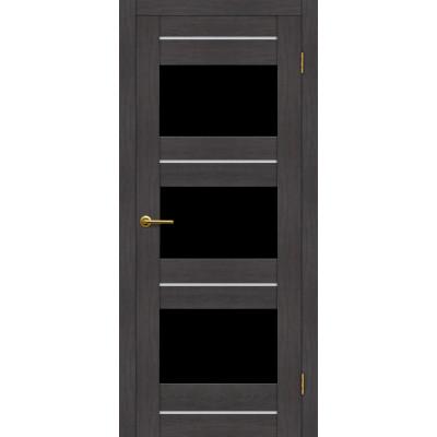 Дверь Motadoor Экошпон Мурена ДО(Ч) венге пепельный