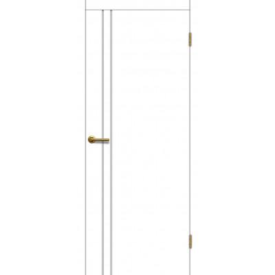 Дверь Motadoor Экошпон Техно ДГ матовый белый