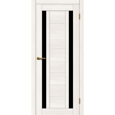 Дверь Motadoor Экошпон X2 ДО(Ч) дуб белый