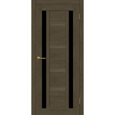 Дверь Motadoor Экошпон X2 ДО(Ч) дуб патина