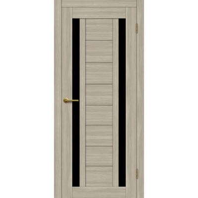 Дверь Motadoor Экошпон X2 ДО(Ч) дымчатый дуб