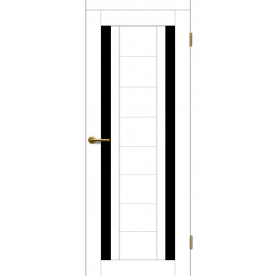 Дверь Motadoor Экошпон X2 ДО(Ч) матовый белый