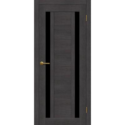 Дверь Motadoor Экошпон X2 ДО(Ч) венге пепельный