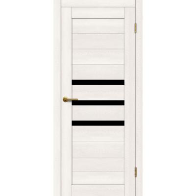Дверь Motadoor Экошпон X3 ДО(Ч) дуб белый