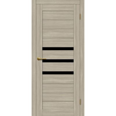 Дверь Motadoor Экошпон X3 ДО(Ч) дымчатый дуб