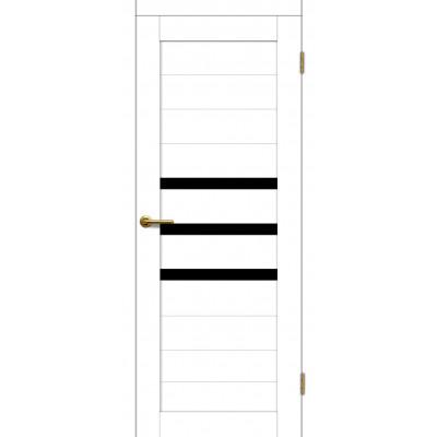 Дверь Motadoor Экошпон X3 ДО(Ч) матовый белый