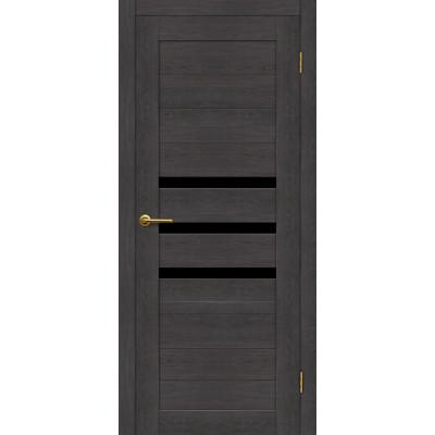 Дверь Motadoor Экошпон X3 ДО(Ч) венге пепельный