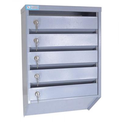Металлический почтовый ящик ЯПС-6-5 для подъезда