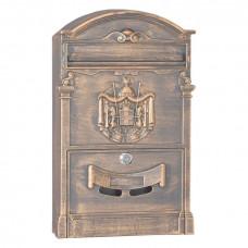 Почтовый ящик для частного дома LB бронза