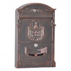 Почтовый ящик для частного дома LB медь