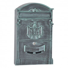 Почтовый ящик для частного дома LB зеленый